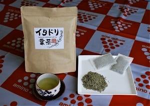 イタドリ葉茶